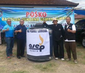 Bantu Korban Bencana, ARJUNA PAD Terbang Ke Lombok