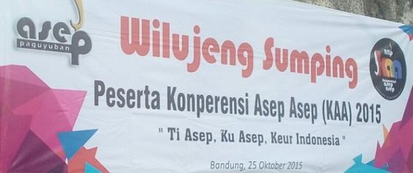 Konferensi Asep Asep: Dari Asep, Oleh Asep, Untuk Indonesia